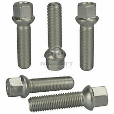 12 Wheel bolts for Original Aluminum Rims by Smart ForTwo Cabrio Coupe