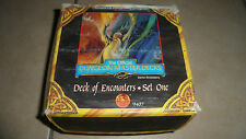 Cartes THE OFFICIAL DUNGEON MASTER DECKS - AD&D - deck of encounters set one