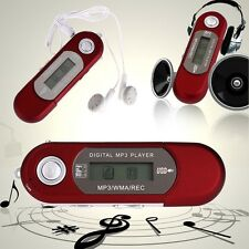 2016 Flash Drive USB LCD Screen Digital FM Radio WMA MP3 Music Media Player C TE