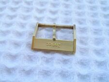VINTAGE NOS 16MM ZODIAC YELLOW GOLD PLATED WATCH BUCKLE                   *5638