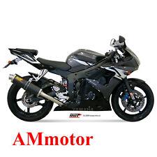Mivv Yamaha Yzf 600 R6 2003 03 Terminale Di Scarico Marmitta Oval Carbonio Moto