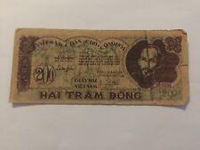 Billet Vietnam 200 Dong 1950