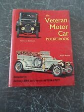 The Veteran Motor Car Pocket Book 1st Edition 1963 + Illustrated