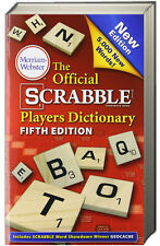 The Official Scrabble Players Dictionary, 5th & Scrabble Score & Tile Tracker