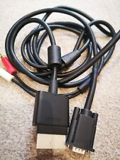 VGA cable for Xbox 360 AV lead adapter