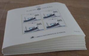 1988 Portugal Madeira; 100 Blocks Postboot, Bl. 9, postfrisch/MNH, ME 1500,-