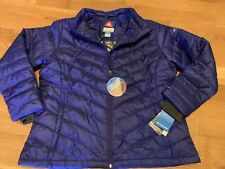 Columbia Women's Plus Size 2X Omni Heat Blue Fall Coat Winter 2XL Jacket XXL