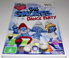 The Smurfs Dance Party Nintendo Wii PAL *Complete* Wii U Compatible