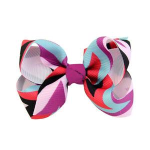 Bowknot Ribbon Satin Big Bow Barrette Hair Clip Large Hairpin Hair Accessories