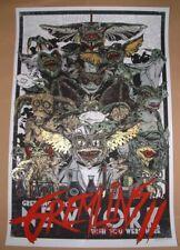 Rhys Cooper Gremlins 2 Movie Poster Print Art Mondo 2015