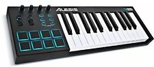 25-Key USB MIDI Keyboard  and  Drum Pad Controller (8 Pads / 4 Knobs / 4