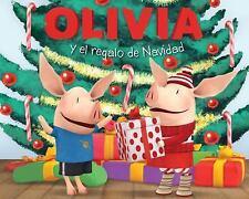 OLIVIA y el regalo de Navidad (Olivia and the Christmas Present) (Oliv-ExLibrary