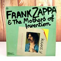 Frank Zappa & Mothers of Invention Vinyl Record LP Transparency Mono Rare Verve