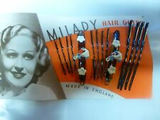 Vintage Bobby Clips. Made in the 1960's.