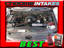 K&N+BLACK RED 97-04 FORD F 150/250 F150/F250/EXPEDITION 4.6L 5.4L AIR INTAKE KIT