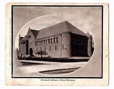 USA - Louisiana, New Orleans, Howard Library - Vintage Postcard