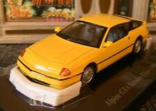ALPINE RENAULT GTA V6 TURBO VERSION US 1986 ELIGOR 1/43 HACHETTE JAUNE YELLOW
