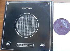 KRAFTWERK Radio-Activity Ex CANADA '70s PURPLE LABEL ELECTRO CAPITOL ST-11457 LP