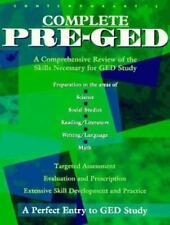 Contemporary's Complete Pre-Ged Contemporary Books, Inc. Paperback