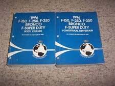 1996 Ford F-150 Shop Service Repair Manual XL Special Super Crew Extended Cab