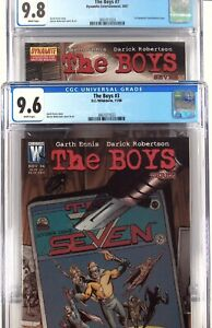The Boys 3 And 7 - CGC 9.6 9.8 - 2 Comic Set In 1