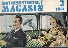 Motorhistoriskt Magasin Swedish Car Magazine 2 1981 Melex Heter 040317nonDBE