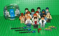 LEGO - Jurassic World Mini Fig Collection w/ Gyro Sphere - 15 Mini Figure Lot
