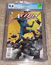 DC Action Comics 40 CGC 9.6 Comic Book 1:25 Jae Lee Variant Cover Superman