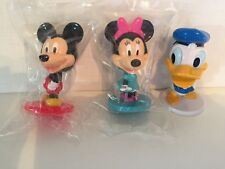 KELLOGGS DISNEY BOBBLE HEADS   SET OF 3 EXCELLENT