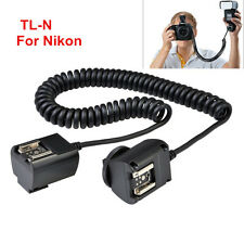 Godox TL-N 3M i-TTL Hot Shoe TTL Sync Cord Cable for Nikon DSLR Speedlite Flash