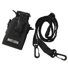 MSC-20A Walkie Talkie For Yaesu Icom Motorola GP328 CB Radio Bag Case Holster