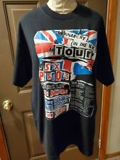 T-Shirt Anarchy In The UK Tour Sex Pistols The Clash Johnny Thunder's XL