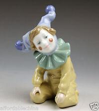 Lladro Child Clown On Knees - Excellent