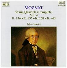 Mozart: String Quartets (Complete), Vol. 4, New Music