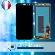 """Ecran pour téléphone Samsung Galaxy J6 SM-J600F 5.6"""" Vitre tactile + LCD NOIR"""
