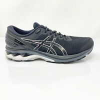 Asics Mens Gel Kayano 27 1011A835 Black Running Shoes Lace Up Size 12.5 Wide