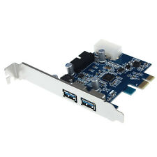 USB 3.0 2-port 19-pin Header PCI-E Card 4-pin IDE Power Connector GFY
