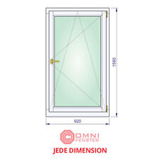 Fenster Holz 92 x 158cm Meranti Holzfenster BESTE QUALITÄT!!!