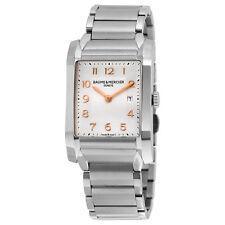 Baume and Mercier Hampton Milleis Steel Midsize Watch MOA10020