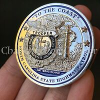 NORTH CAROLINA STATE HIGHWAY PATROL Trooper CHALLENGE COIN