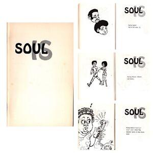 """Soul Is"" by Ernest Taylor & Brenda Scott Comic Illustrated Black Americana RARE"