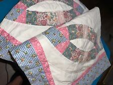 handmade? two queen/king? quilted pillow shamed vintage estate