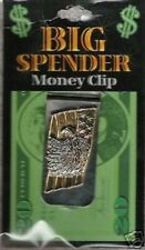 Bill Moneyclip New See My Other Items Gold Tone Eagle Head Money Clip Cash