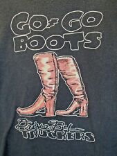 Drive By Truckers DBT GO GO BOOTS Album Tee EXTRA LARGE XL Southern Alternative