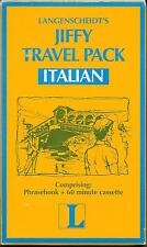 ITALIAN Language Learning Phrase Book & Audio Guide, Travel Pack, Rome, Venice