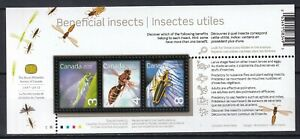 Canada 2012 Insects MNH Block