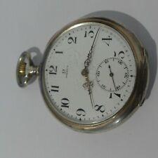 Vintage silver pocket watch Omega
