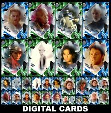 Topps Star Wars Card Trader FRACTURED 2021 AOTC [30 CARD BLUE/GREEN SETS]