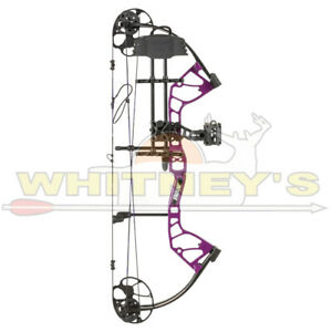 Fred Bear Archery Royale RTH 50#/Right Hand- Purple-Compound Bow-AV02A21155RM