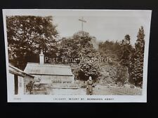 Leicestershire WHITWICK Mount St Bernards Abbey MONK GARDEN GREENHOUSE c1909 RP